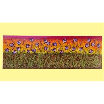 Distesa di tulipani viola vendita quadri online quadri for Amazon quadri moderni astratti