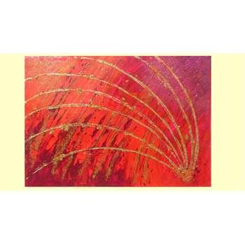 Sfavillio in rosso vendita quadri online quadri for Quadri astratti on line