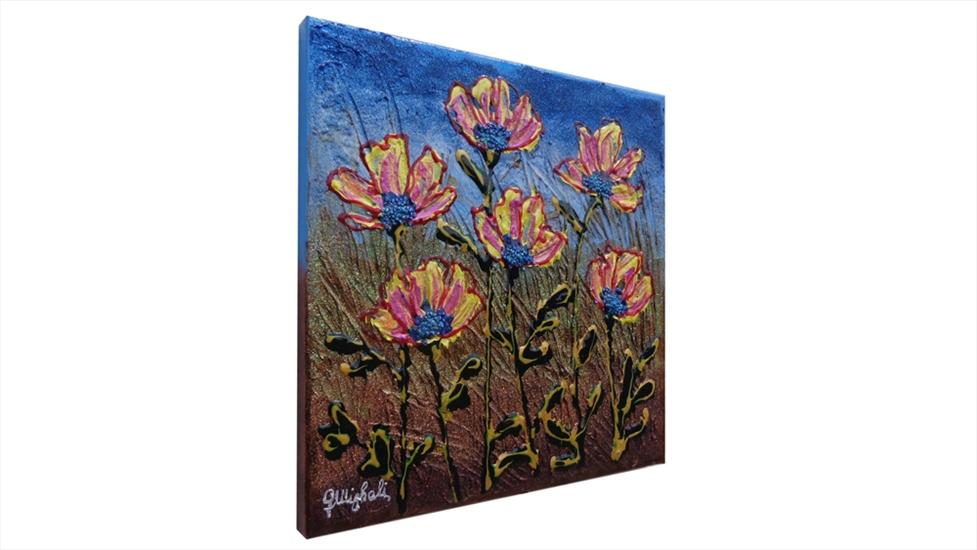Fiori di campo piccoli vendita quadri online quadri for Quadri piccoli moderni