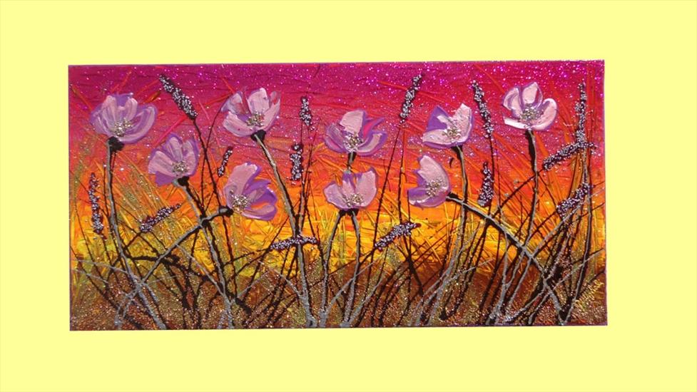 Camera Da Letto Fucsia : Fiori lilla al tramonto vendita quadri online