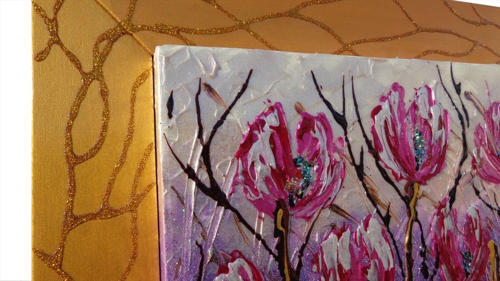 Tulipani fucsia moderni vendita quadri online quadri for Immagini quadri astratti moderni