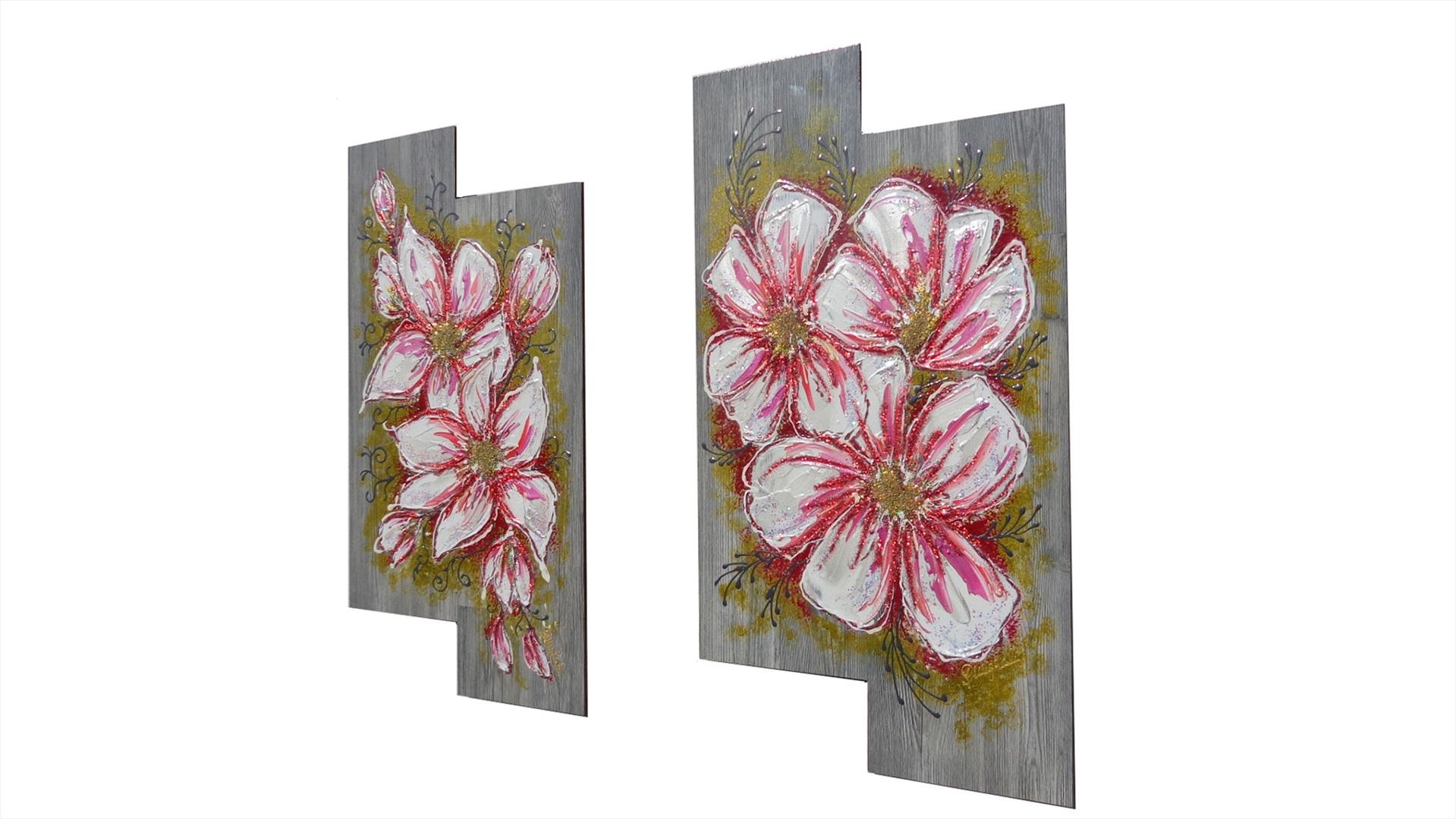 Fiori bianchi moderni vendita quadri online quadri for Quadri moderni vendita