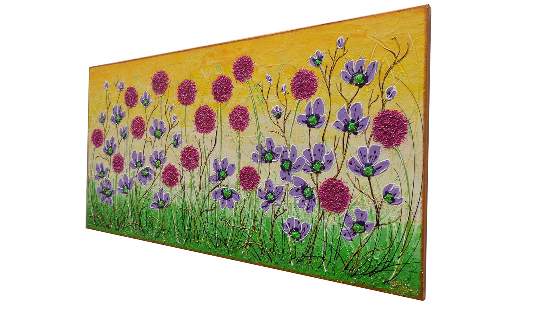 Fiori in primavera vendita quadri online quadri for Quadri moderni fiori dipinti a mano