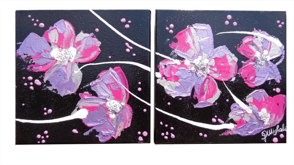 Fiori arredo piccoli moderni vendita quadri online for Quadri moderni fiori dipinti a mano