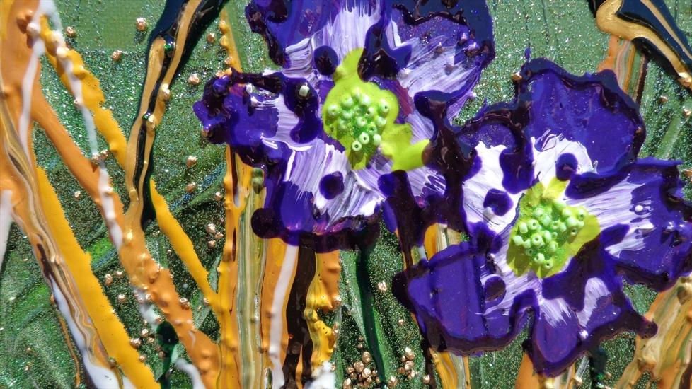 Fiori viola moderni vendita quadri online quadri for Vendita dipinti online