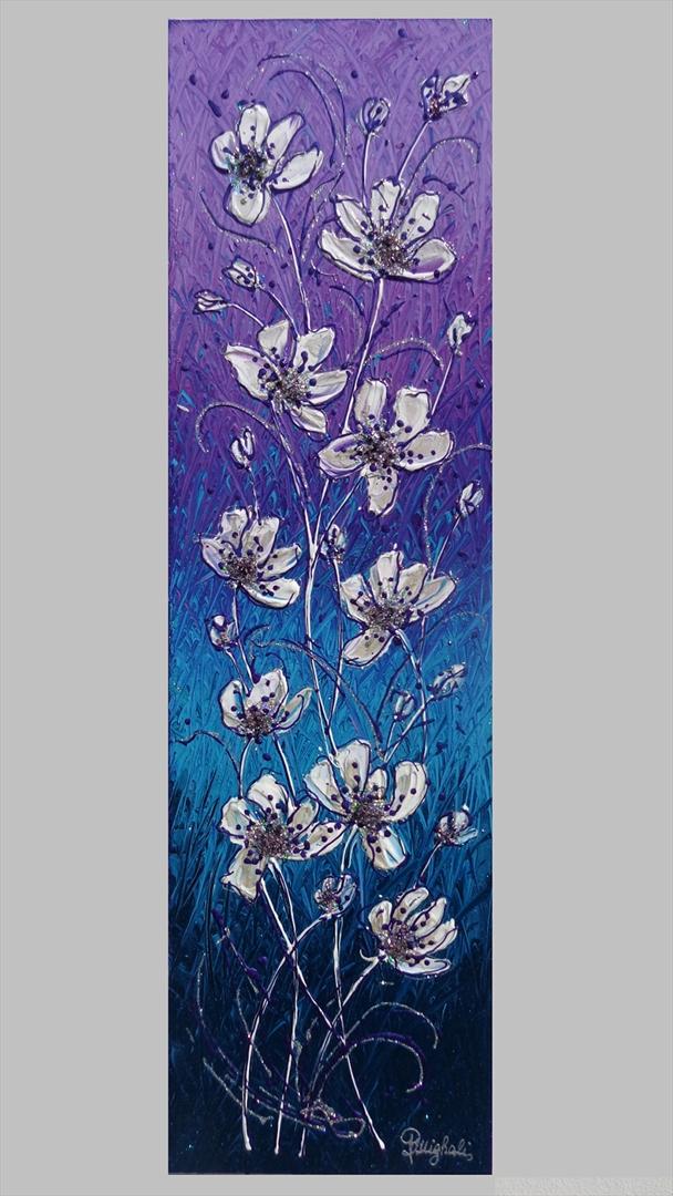 Magnolie in verticale vendita quadri online quadri for Quadri moderni in verticale