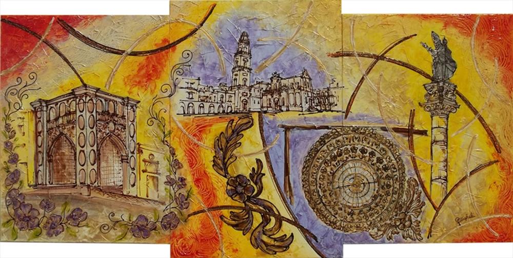 Lecce particolari astratti vendita quadri online for Quadri particolari moderni