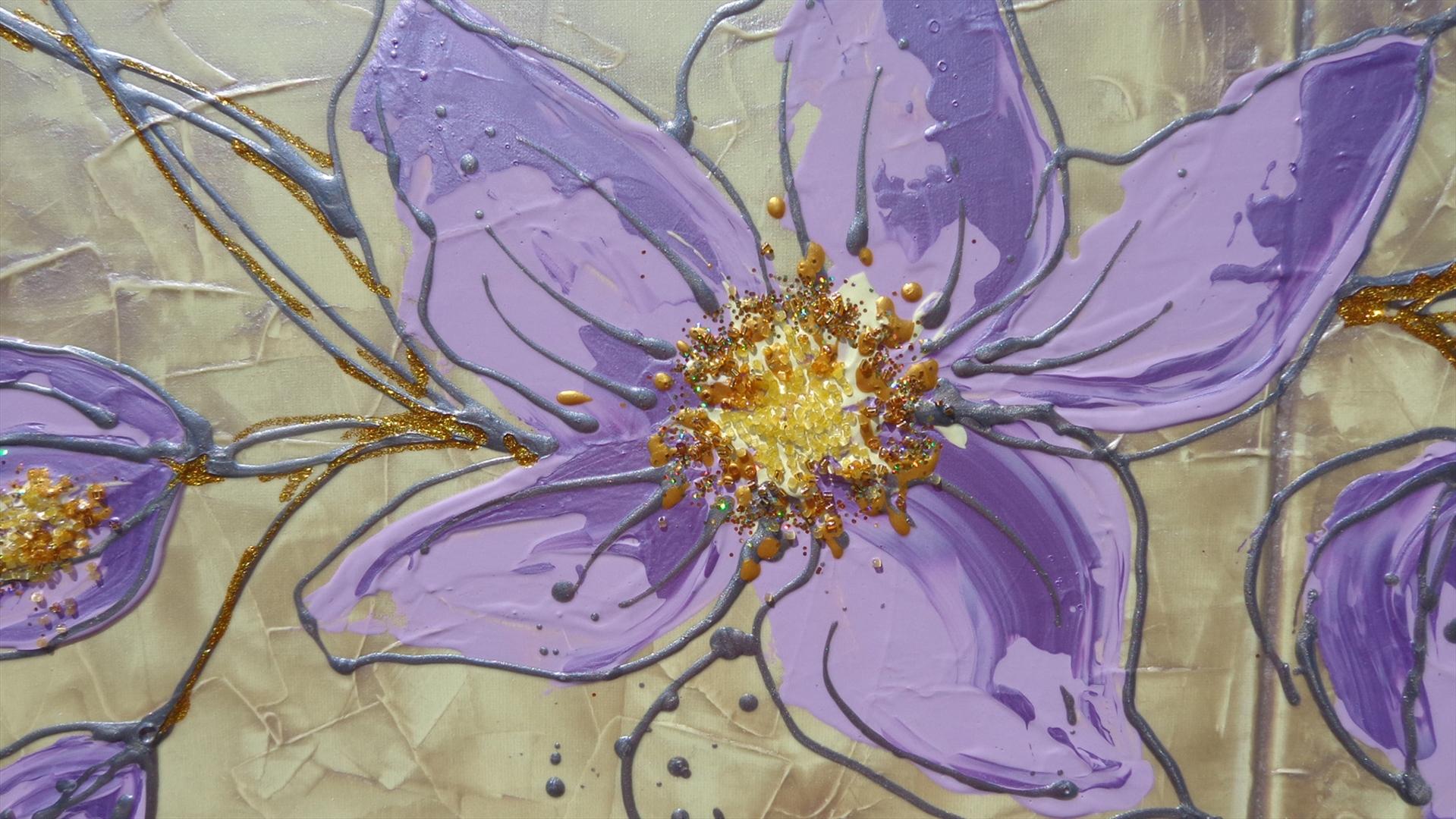 Stelo di fiori lilla | Vendita Quadri Online | Quadri moderni ...