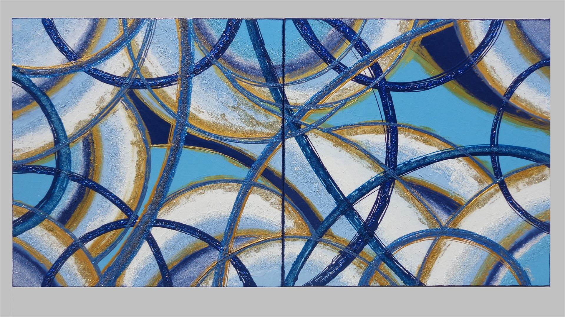 Volute astratte in blu vendita quadri online quadri moderni quadri astratti quadri - Dipinti camera da letto ...