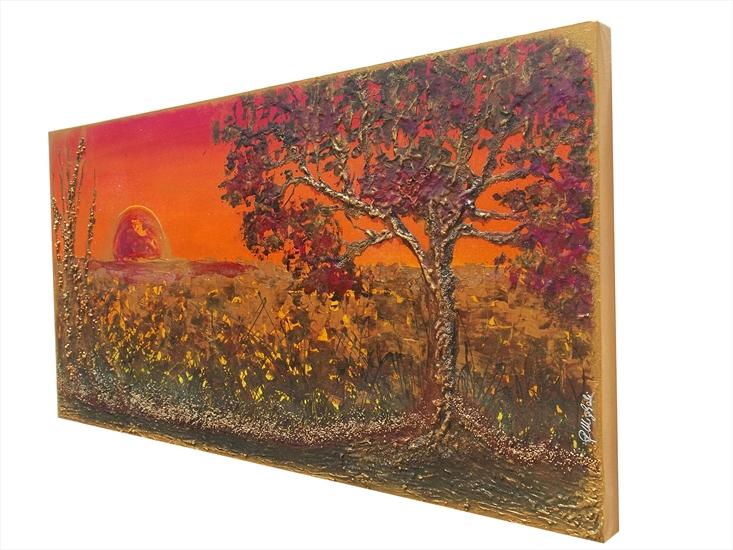 Tramonto caldo vendita quadri online quadri moderni for Quadri astratti online