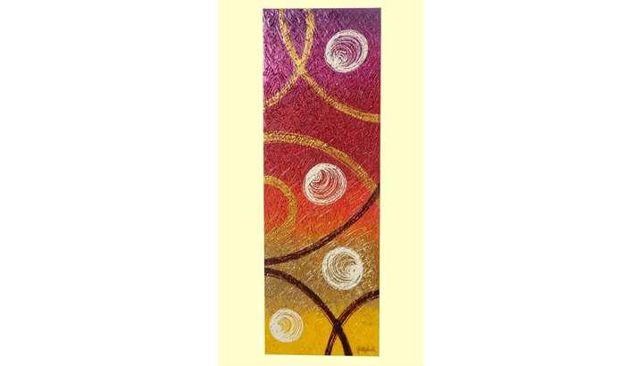 Astratto sfumato colori tonali 2 vendita quadri online for Quadri moderni in verticale
