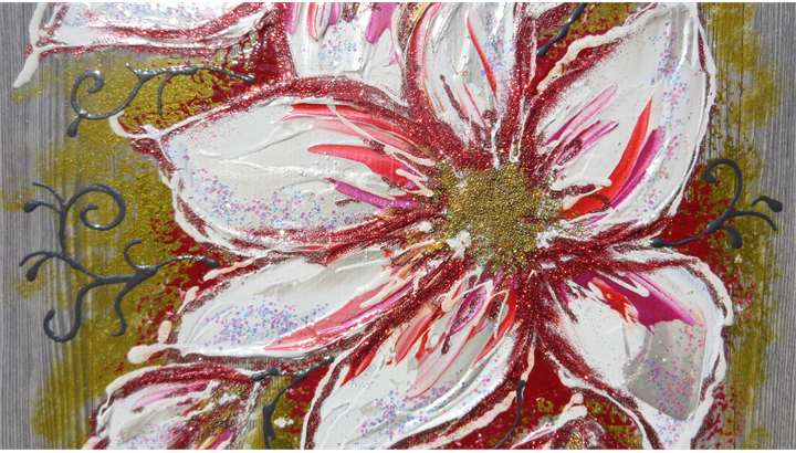 Fiori bianchi moderni vendita quadri online quadri for Quadri fiori secchi vendita