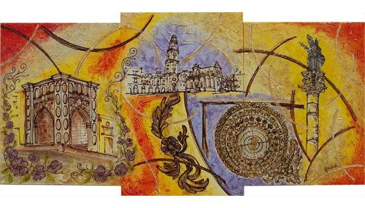 Barocco astratto moderno vendita quadri online quadri for Quadri particolari moderni