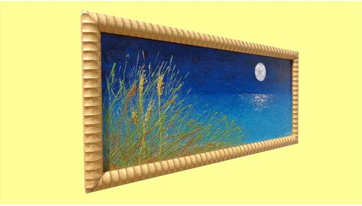 Mare di notte con luna vendita quadri online quadri - Quadri per casa mare ...