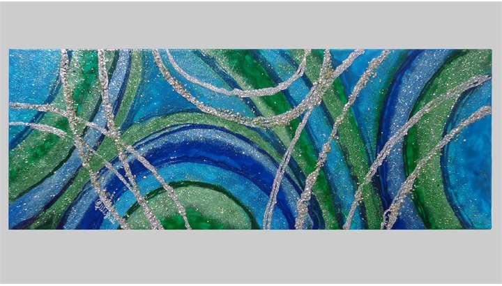 Astratto libero in blu vendita quadri online quadri for Quadri astratti immagini