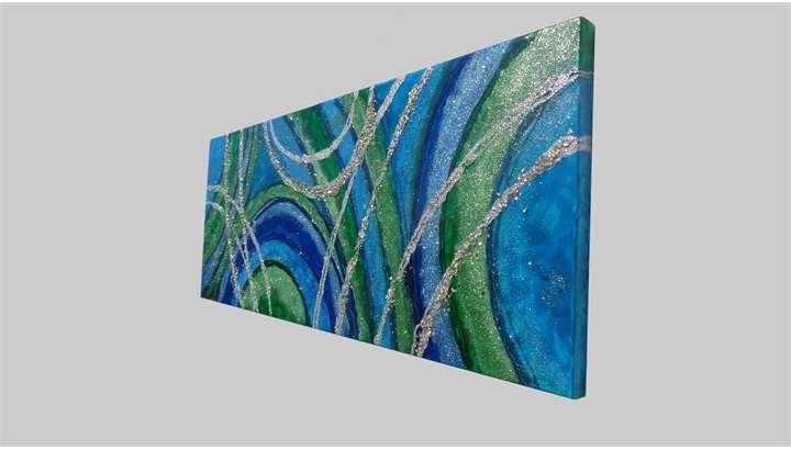 Sfumature astratte vendita quadri online quadri for Immagini quadri astratti moderni